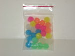 12mm Glow Color Beads