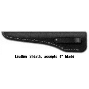 leather sheath 6 size